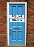 Polling station Stock Images