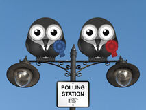 Polling Station Royalty Free Stock Photography