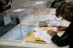 Polling station 012 Stock Photos