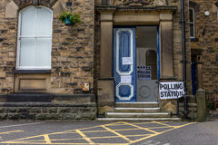 Polling Station Stock Image