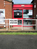 Polling Station. Royalty Free Stock Photos
