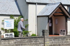 Polling Station Royalty Free Stock Images