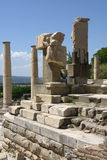 Pollio springbrunn Ephesus Royaltyfri Bild