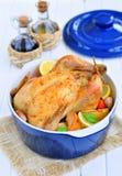 Pollo al forno Immagine Stock
