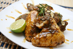 Pollo al limone Royalty Free Stock Images