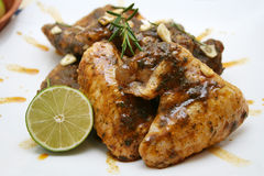 Pollo al limone Royalty Free Stock Photos