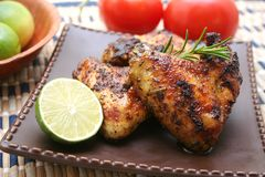 Pollo al limone Royalty Free Stock Image