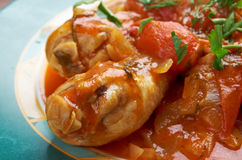 Pollo alla Cacciatora Royalty Free Stock Photo