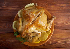 Pollo alla diavola Fotografia Stock