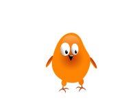 Pollo arancione Immagini Stock