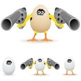 Pollo arrabbiato Immagini Stock Libere da Diritti