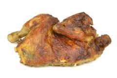 Pollo arrostito mezzo immagini stock libere da diritti