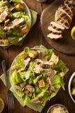 Pollo arrostito sano Caesar Salad Immagini Stock Libere da Diritti
