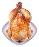 Pollo arrostito tutto Immagine Stock Libera da Diritti