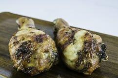 Pollo asado apetitoso Imagen de archivo libre de regalías