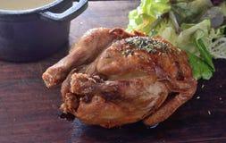 Pollo asado de la paprika Imagen de archivo