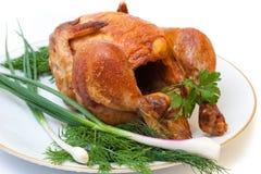 Pollo asado a la parilla Imagenes de archivo