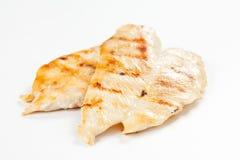 Pollo asado a la parilla filete Fotografía de archivo