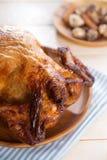 Pollo asado preparado Imagen de archivo