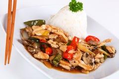 Pollo asiatico Fotografia Stock