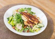 Pollo Caesar Salad Fotografía de archivo libre de regalías