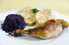 Pollo ceco con Carlsbad Fotografia Stock Libera da Diritti