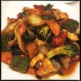 Pollo cinese di Kung Pao fotografia stock