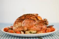 Pollo cocido al horno Fotos de archivo libres de regalías