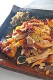 Pollo cocido del sésamo Fotografía de archivo libre de regalías