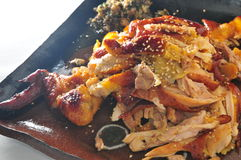 Pollo cocido del sésamo Imagenes de archivo