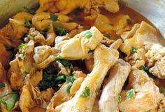 Pollo cocinado Imagen de archivo libre de regalías