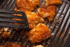 Pollo con las verduras fritas Imágenes de archivo libres de regalías