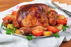 Pollo cotto. Fotografia Stock