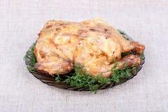 Pollo cotto Immagini Stock
