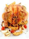 Pollo cotto Fotografia Stock