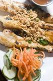 Pollo cotto antipasto dell'alimento del Vietnam immagine stock