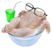 Pollo crudo fresco Fotografia Stock Libera da Diritti
