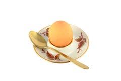 Pollo cucinato uovo Immagini Stock Libere da Diritti
