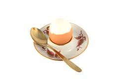 Pollo cucinato uovo Fotografia Stock