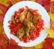 Pollo de carne asada Imagen de archivo
