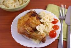 Pollo de carne asada Fotos de archivo libres de regalías