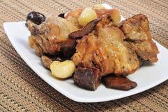 Pollo de carne asada Fotografía de archivo libre de regalías