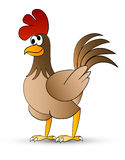 Pollo de Catoon Foto de archivo libre de regalías