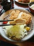 Pollo de Katsu Imagen de archivo
