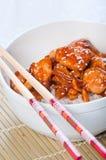Pollo de Kung Pao Fotos de archivo libres de regalías