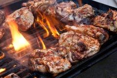 Pollo de la barbacoa Fotografía de archivo libre de regalías