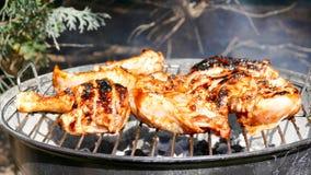 Pollo de la barbacoa Foto de archivo
