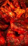 Pollo de la barbacoa Foto de archivo libre de regalías