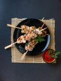 Pollo de la barbacoa Fotos de archivo