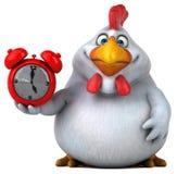 Pollo de la diversión - ejemplo 3D Fotografía de archivo libre de regalías